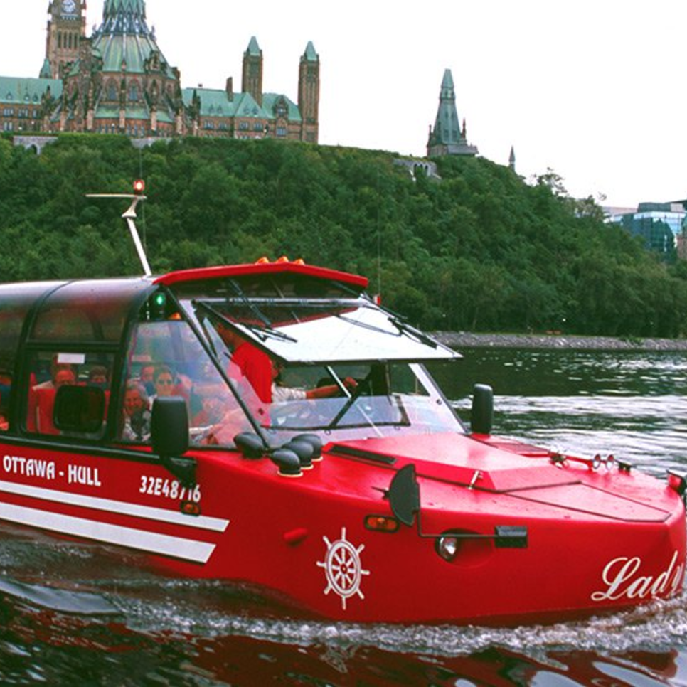 Lady Dive: Ottawa by Land and Water (59 Sparks) - Lady Dive specializes in guided tours of the National Capital region of Ottawa-Gatineau. These unique multilingual guided tours of Canada's capital let you appreciate Ottawa's historic scenery from every possible angle. Thrill to the stunning sites on land or while rocking gently on the Ottawa River! Whether you're new to Ottawa this year or have lived here for a while, this tour is sure to show you some of the best views of this beautiful city!