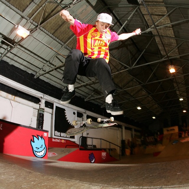 Alis reppin CPH at the @vans_europe Shop Riot in Leeds last year #flashback