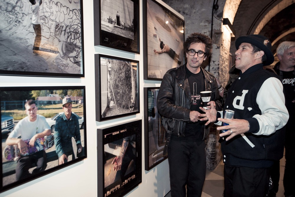 Propeller exhibition at the Official Propeller After Party, House Of Vans London