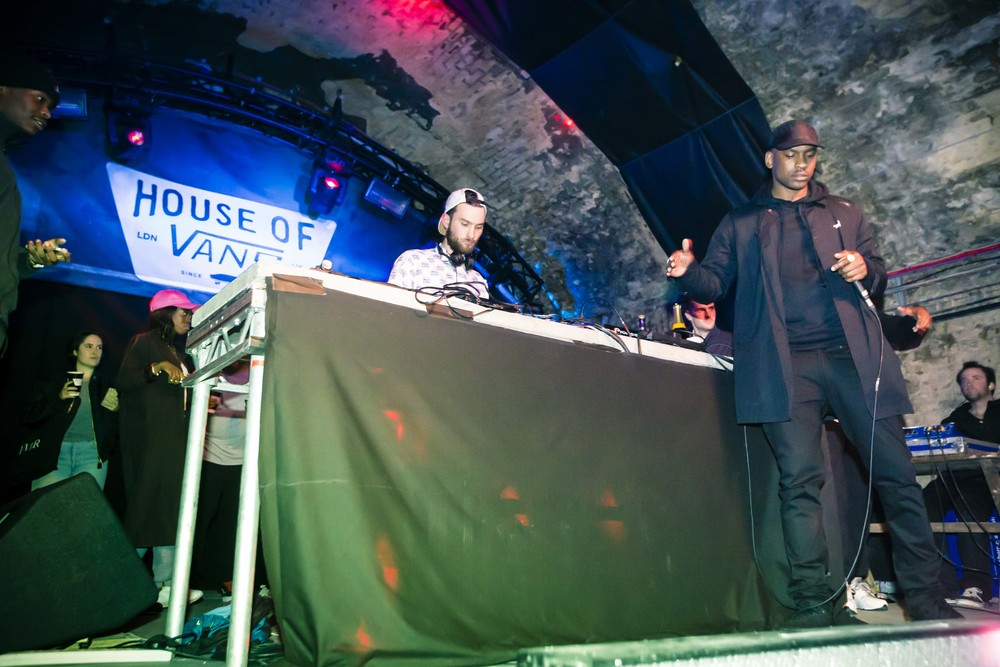 Skepta at the Official Propeller After Party, House Of Vans London