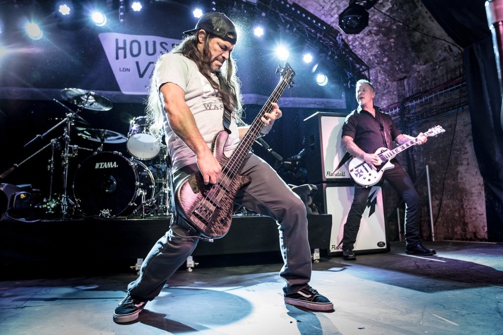 Robert Trujillo in Vans Old Skools