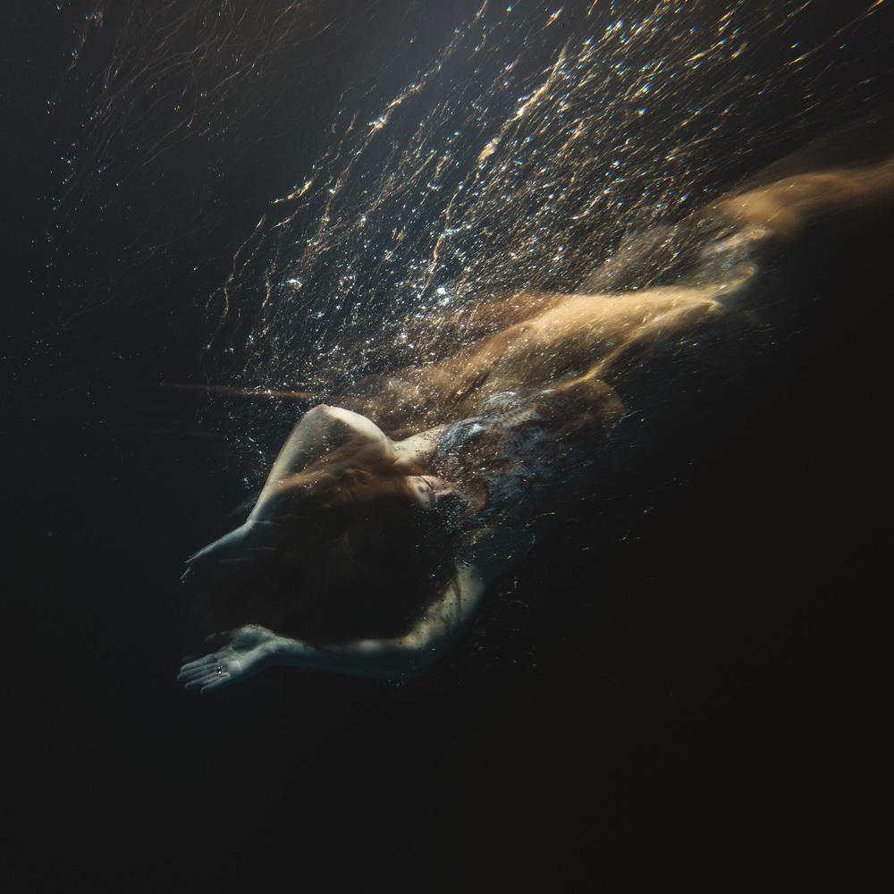 Beauty and tranquillity as a dancer glides through the water. ©- Matt Porteous