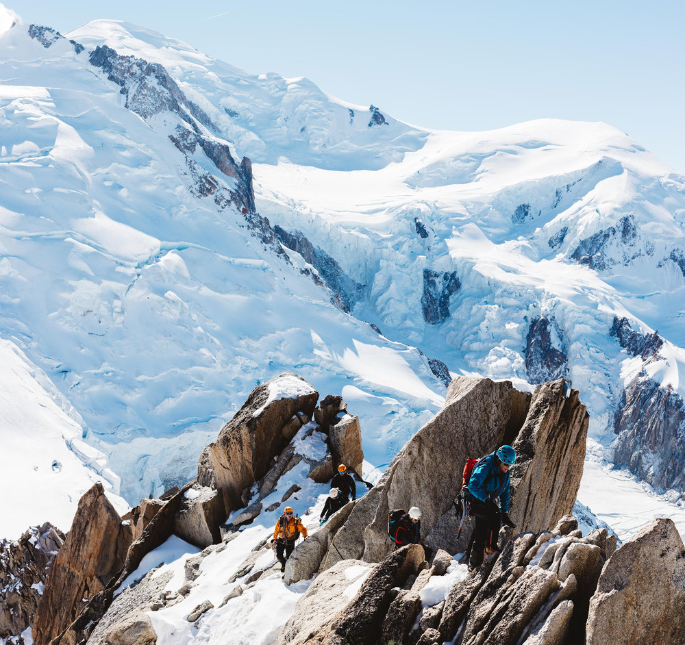 The Aiguille du Midi - Matt Porteous
