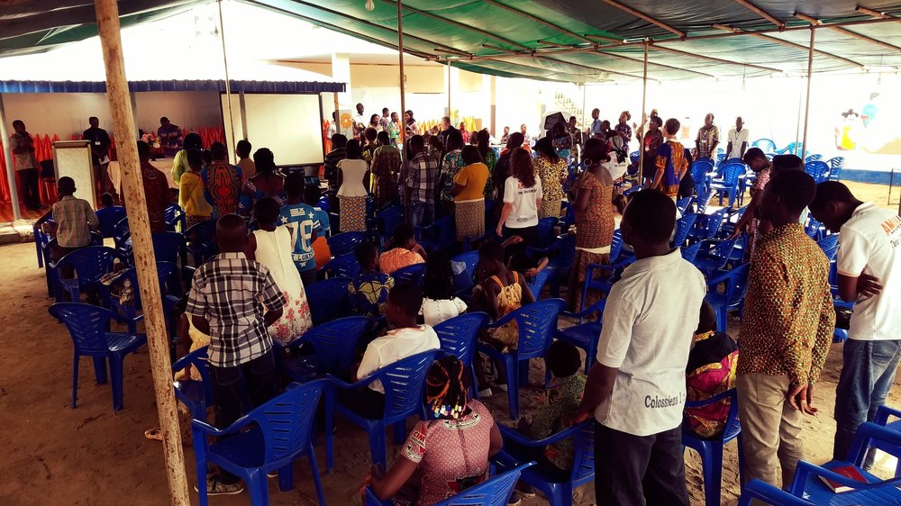 The AMANA Missions Conference in Lomé, Togo.