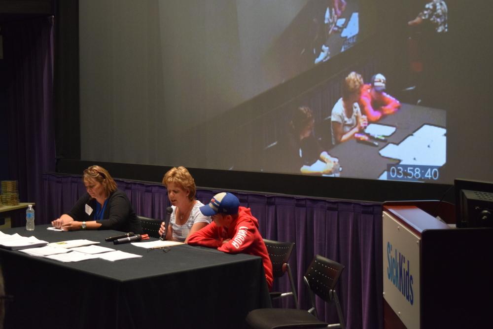 Parent panel (Left to right) Susan G, Katie W & Daniel S.