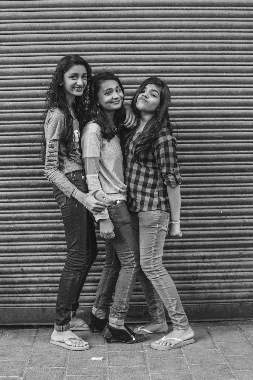 Bhavani, Prachi and Jill