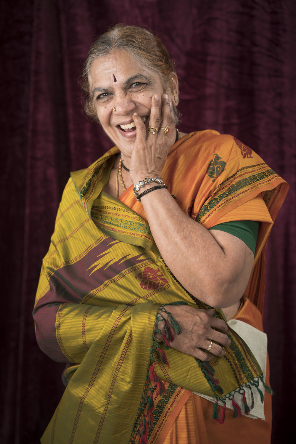 """These days Mrs Narasimhan enjoys doll-making, knitting and stitching in her free time but ask her if she'd like to work again? """"I'd drop everything and go right back,"""" she exclaims."""