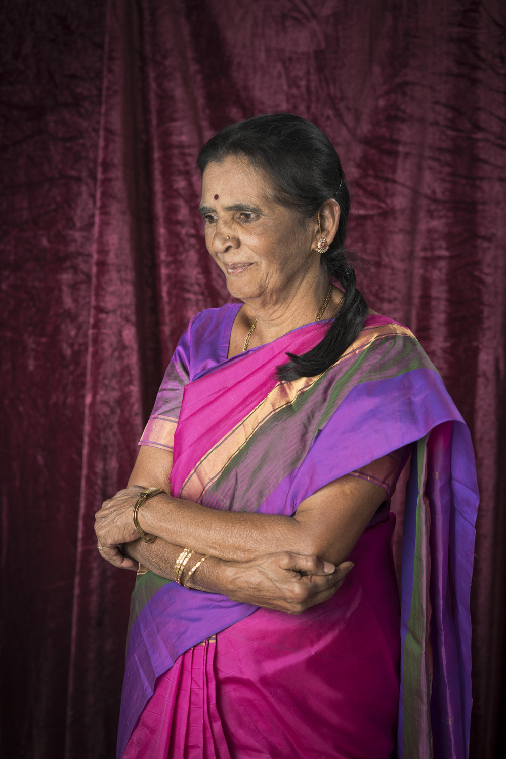 Like her peers she misses the camaraderie the women shared. Festivals were particularly memorable, where they'd dress up in colourful silks and look forward to a day of socialising amidst work.