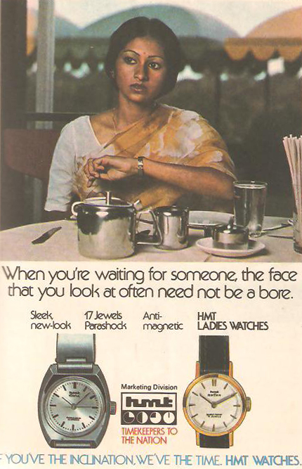 A cheeky message from the brand. Source:  classicindianads.blogspot.com