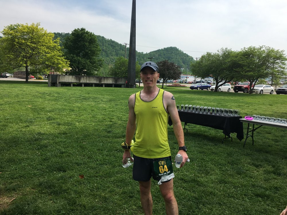 2017 2nd place finisher Bob Luther of West Virginia.