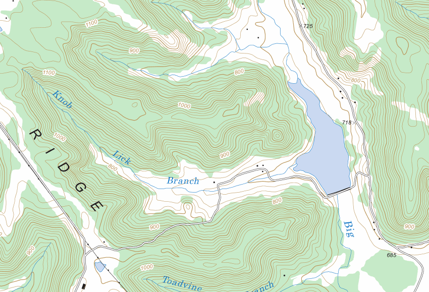 Can you identify this Next Opportunity Events race site from the topo map?