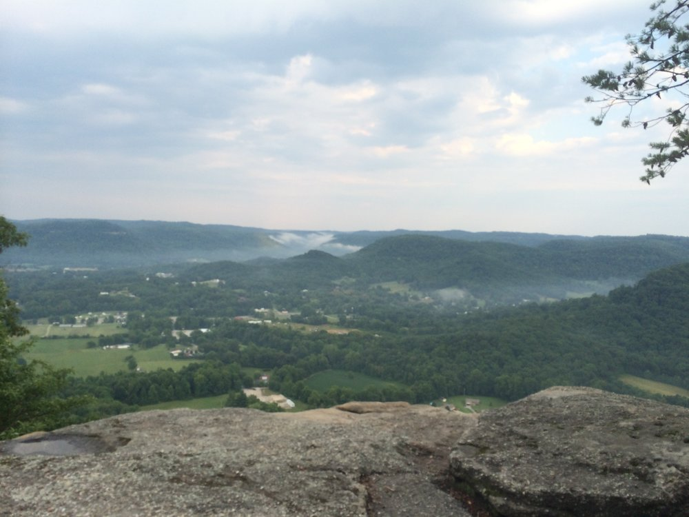 One of the many great views at the East Pinnacle.