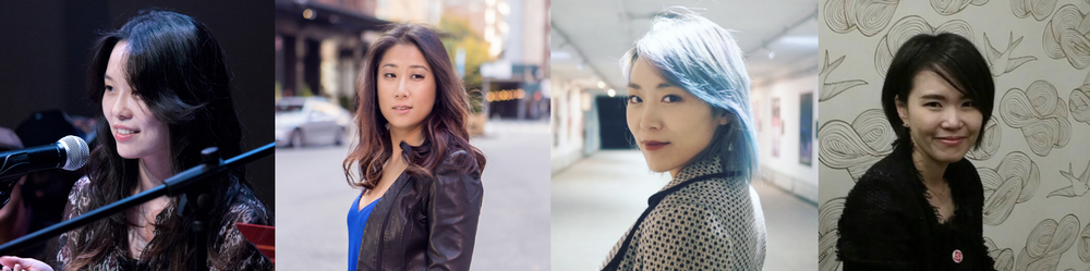 composers Hyeyoung Kim, Janet Noh,Helen Park, and Joy Son
