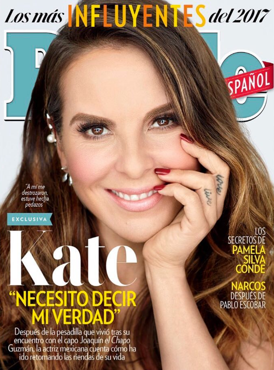 Kate del Castillo-wearing Nix Jewelry earrings