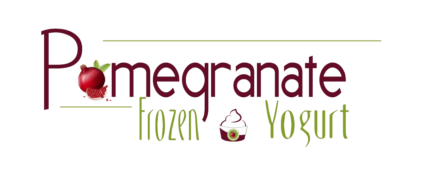 Pomegranate Frozen Yogurt