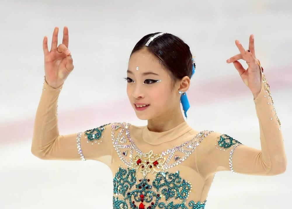 You Young at the Korean Figure Skating Championships.