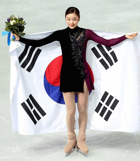 Yuna Kim is a national hero in South Korea.  (Korea.net photo)