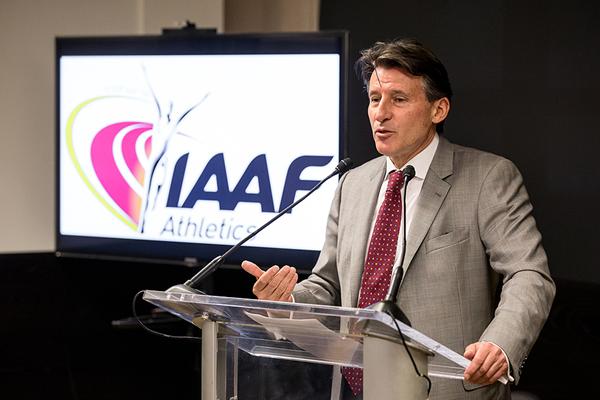 IAAF President Sebastian Coe (IAAF photo)