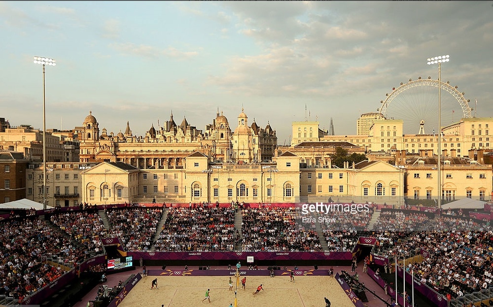 Why not have this Olympic scene - beach volleyball at the 2012 London Games -  repeated on a regular basis?