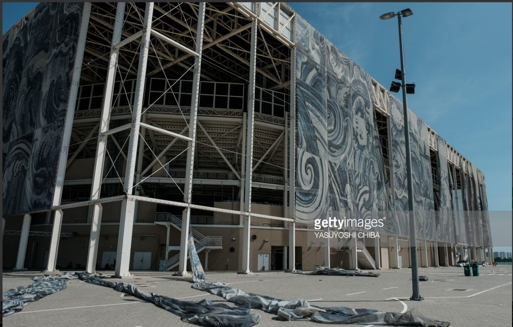The decorative wrap of Rio's Olympic pool laying in tatters barely six months after the Games is a perfect symbol of the wasteful legacy of the 2016 Summer Games.