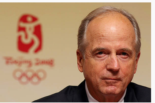 Peter Ueberroth at the Beijing Olympics.  (Getty Images)