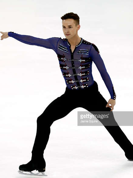 Adam Rippon likes the idea of a wider GOE range.