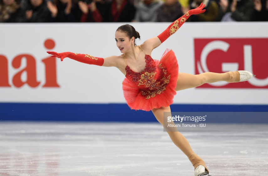 Alina Zagitova's eye-catching costume helped bring out her strengths in Grand Prix Final win.