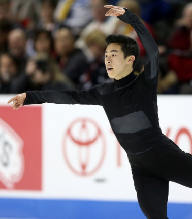 Nathan Chen at 2018 nationals.  (Getty)