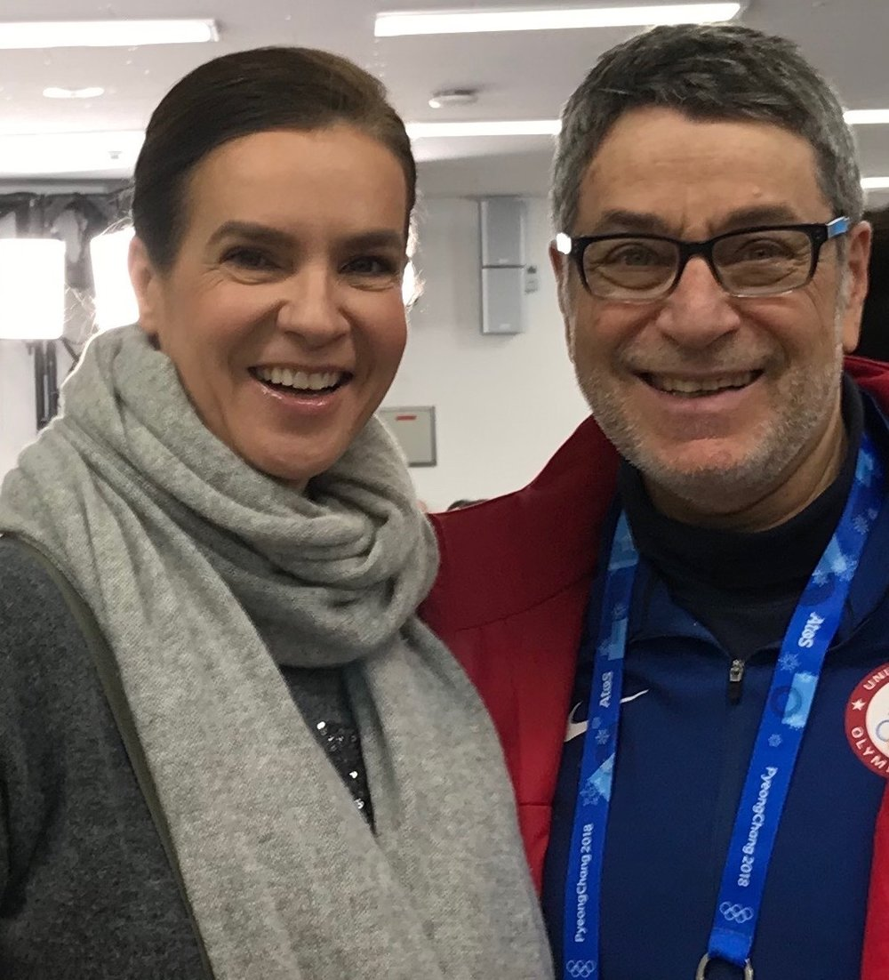 I didn't get to see Katarina Witt in 1986 but did many times later - including the 2018 Olympics.