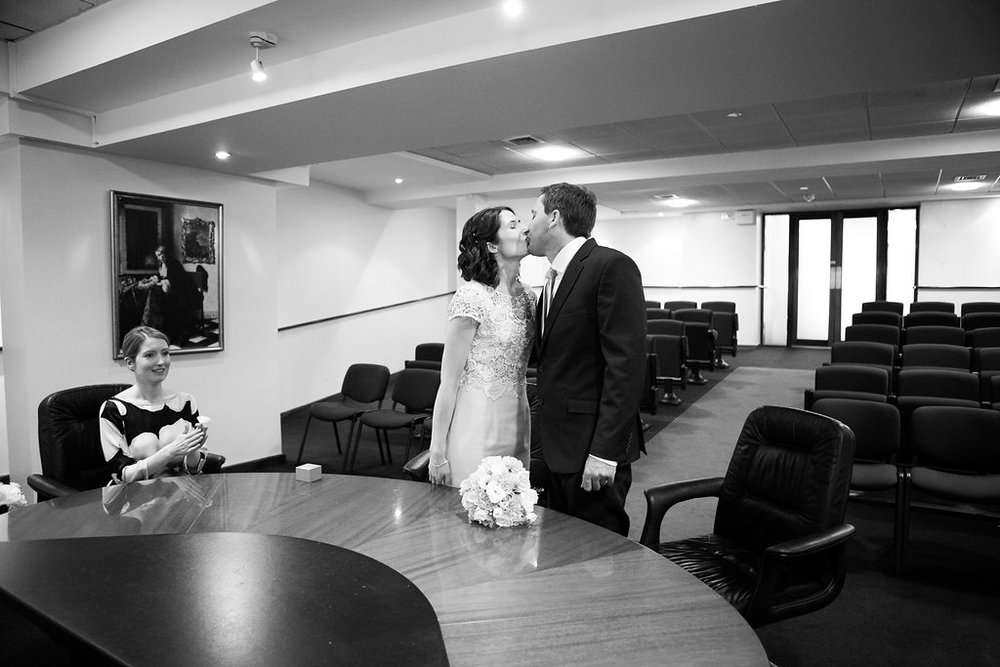 Intimate civil ceremony Dublin Merrion Square  5.jpg