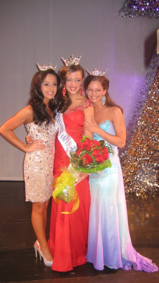 The 2011 Laurel Highlands Family.  Jordyn Colao-Miss Laurel Highlands, KAITLYNNE KLINE, the new Miss PENNSYLVANIA'S OUTSTANDING TEEN 2011, and Amber Marlowe-Miss Laurelwood.