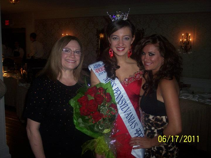 Proud Directors Kathy & Melanie with their First State Teen Titleholder Kaitlynne.