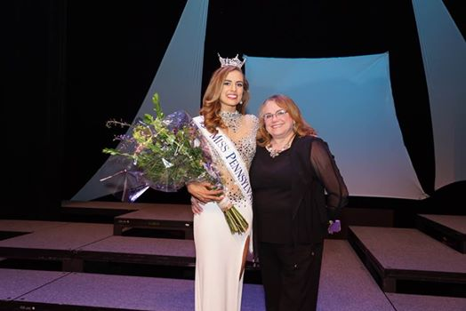 My Miss Laurelwood won Miss Pennsylvania 2016 - Samantha Lambert with her Local Director Kathy Smartnick