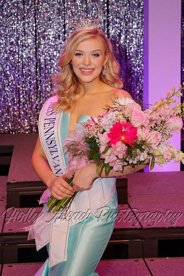 Congratulations to Cecilia Petrush on your Miss Pennsylvania's Outstanding Teen 2018 crown.
