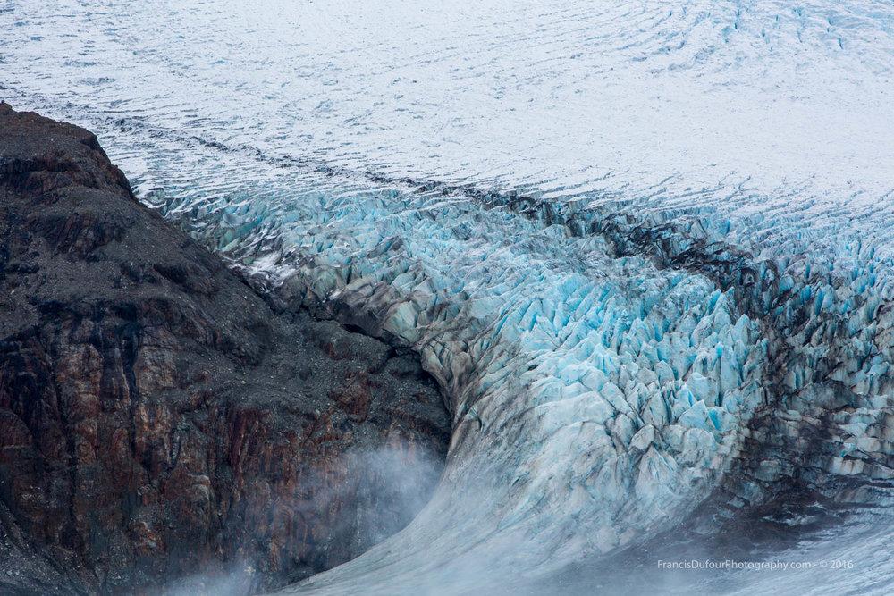 Salmon Glacier Crevasses