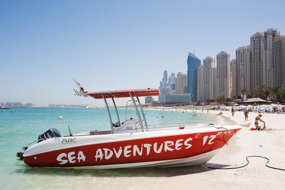 Adventure at the beach (Dubai, UAE)