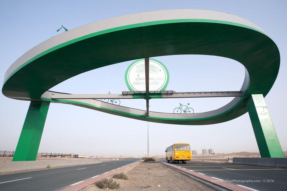 The Gate to Dubai Cycling Course (United Arab Emirates)
