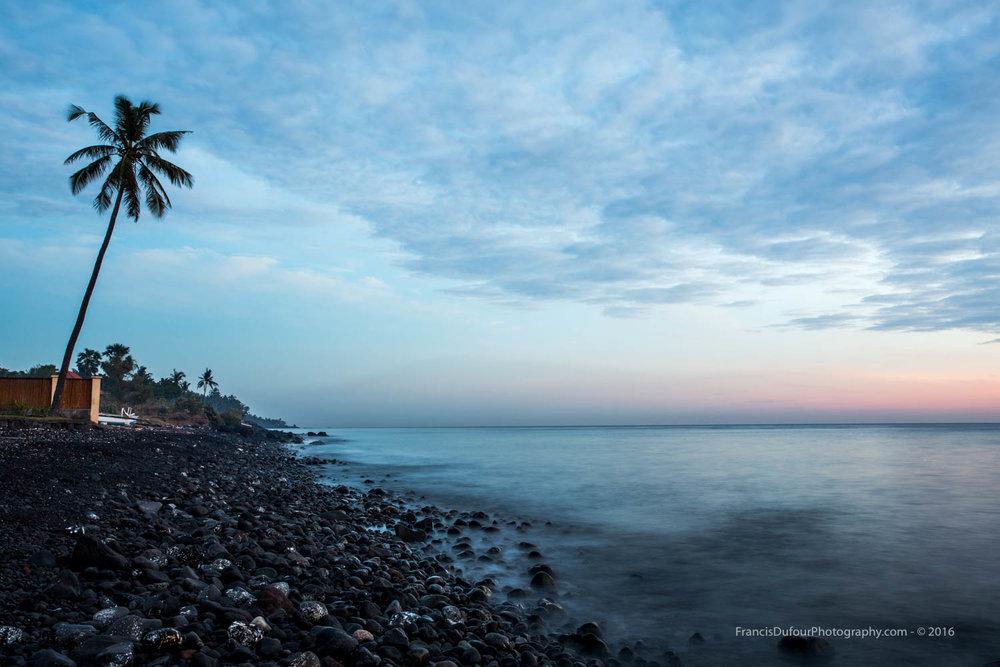 Black Beach of Kubu