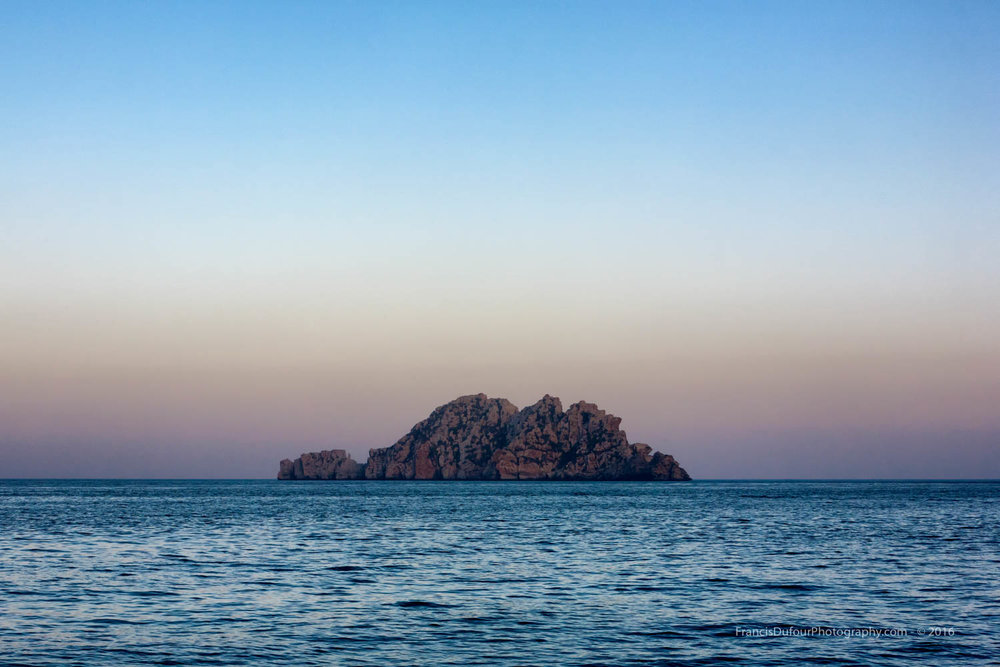Lima Rock in Mussandam (Oman)