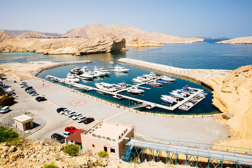 Al Jissah Bay Marina and Dive Center (Muscat, Oman)