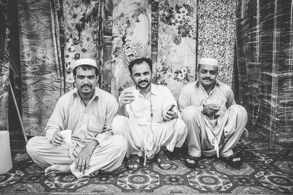 Tea time in Karama