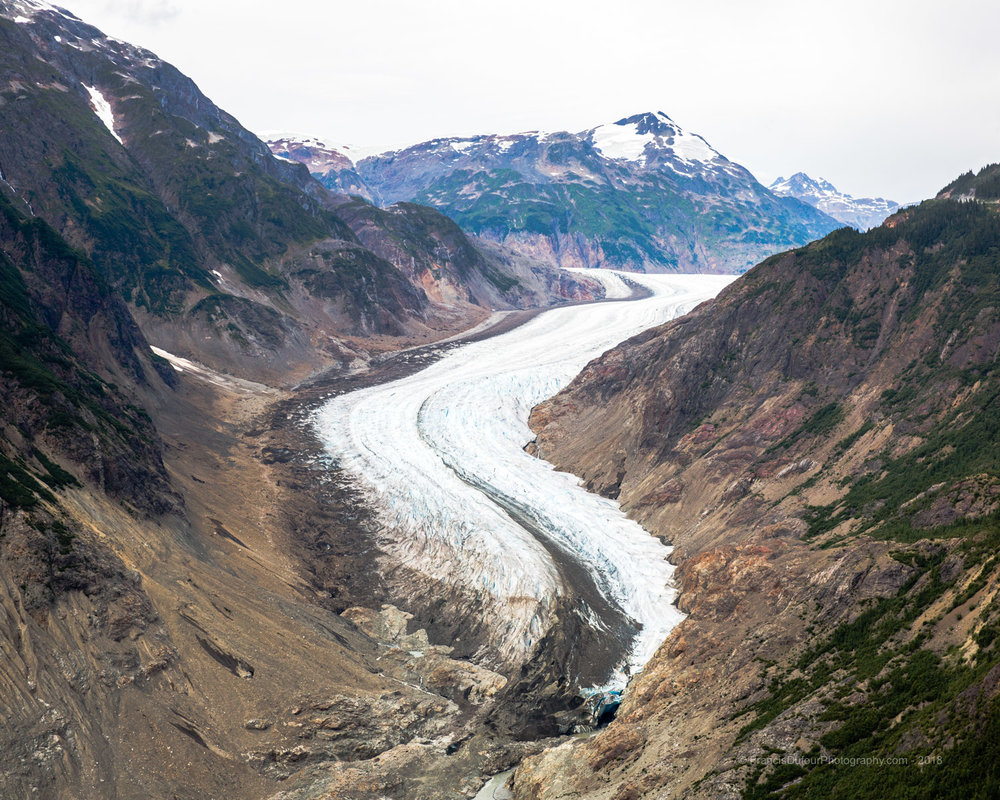 Salmon Glacier Valley