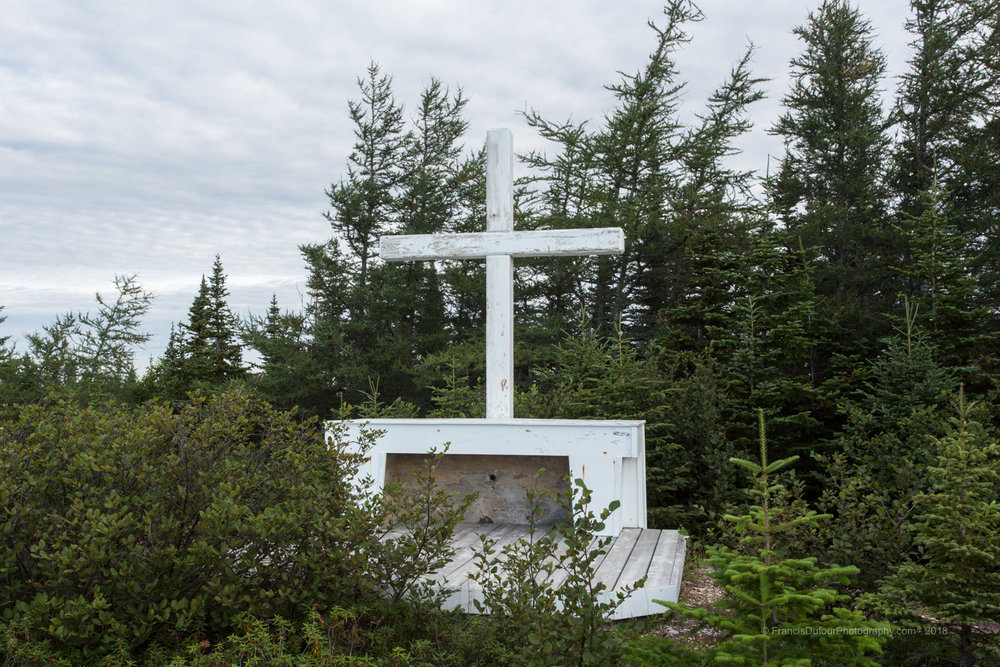 Natashquan - Croix hommage aux fondateurs