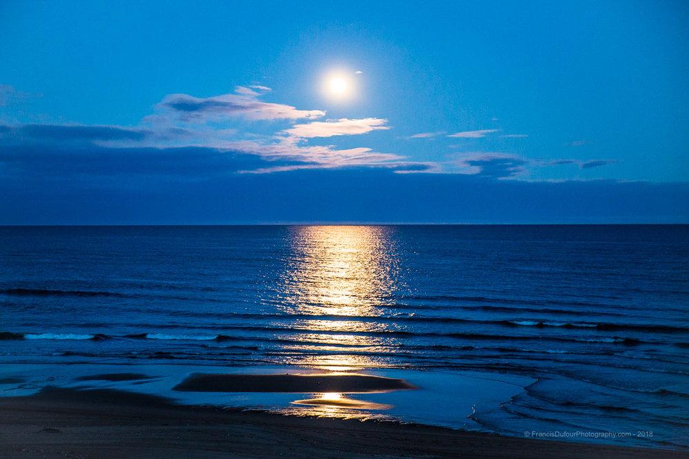 Gallix - Lever de lune