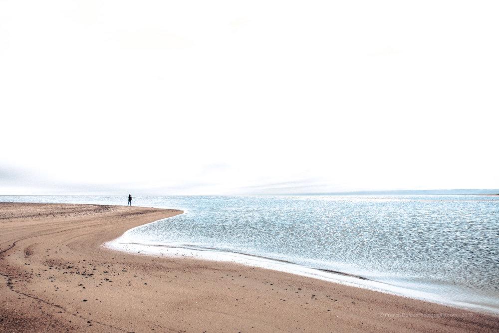 Pointe de Gallix à marée basse