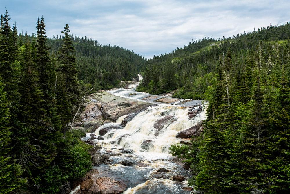 Rivière-du-Sault-Plat - Héritage des glaciers