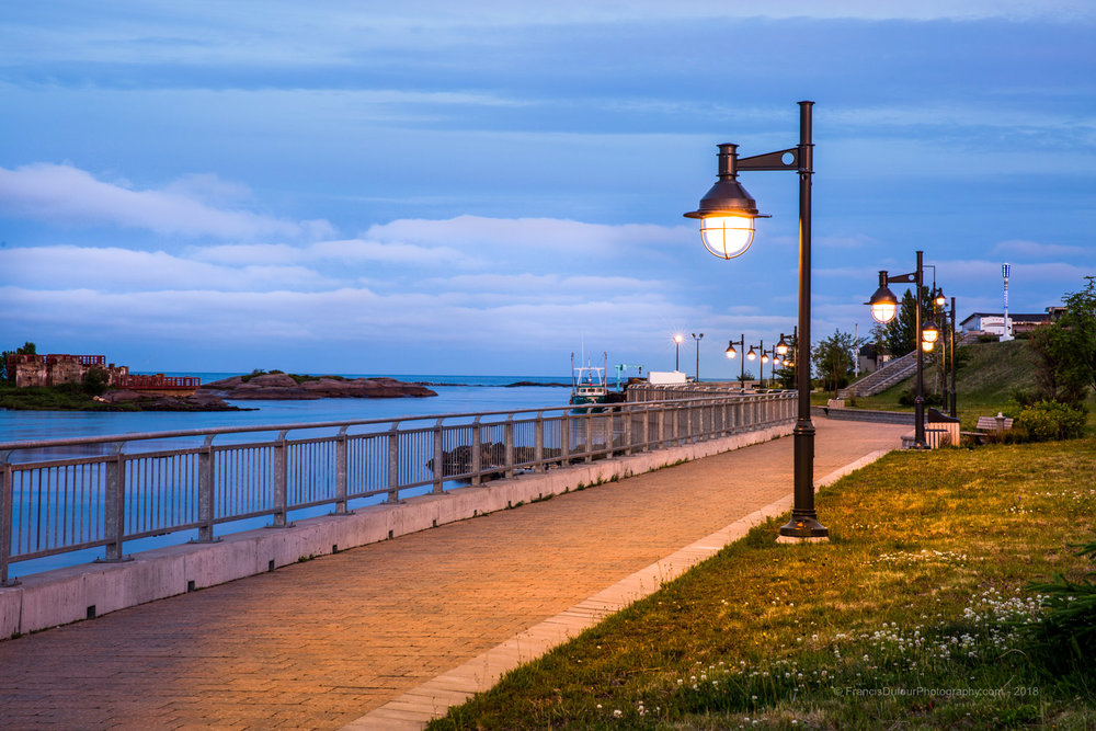 Port-Cartier - Promenade du Petit Quai
