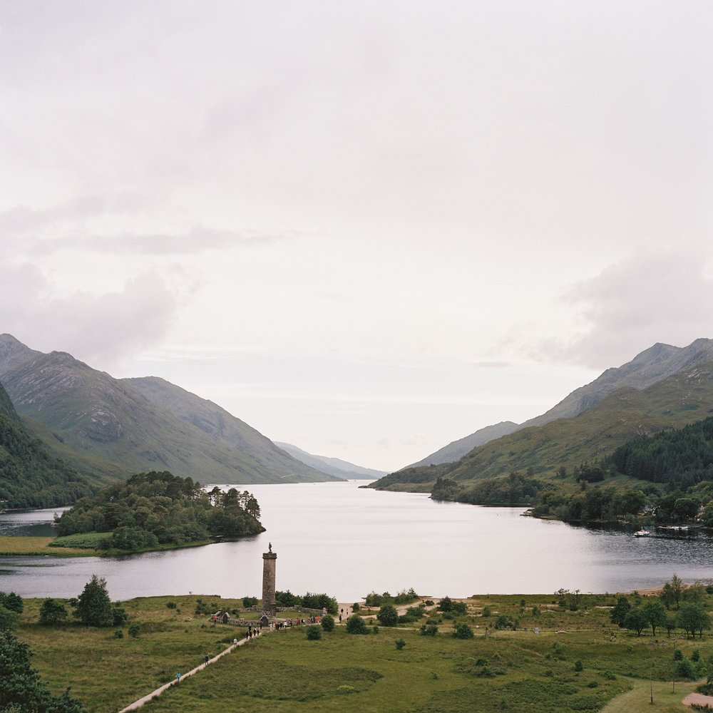 Across the way, Loch Shiel -
