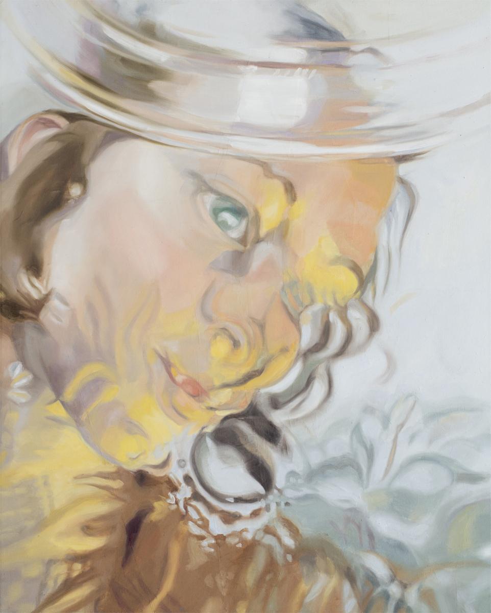 "Self Portrait, 24x30"", oil on canvas, 2009"
