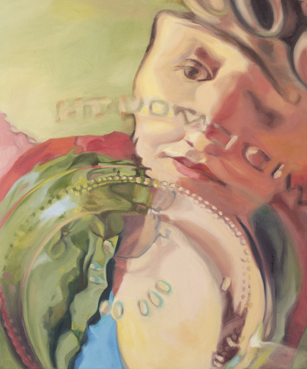 """Claudie, 20x24"""", oil on canvas, 2010"""